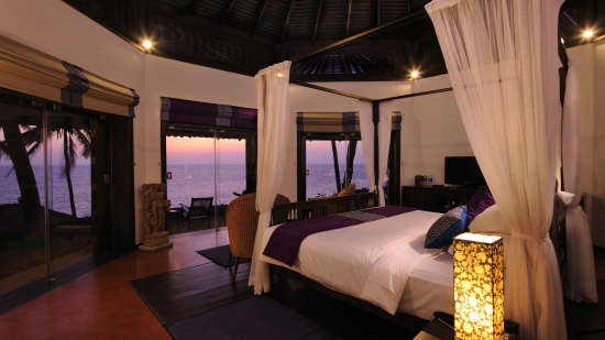 Octagon Room at Niraamaya Surya Samudra Resorts in Kovalam 1
