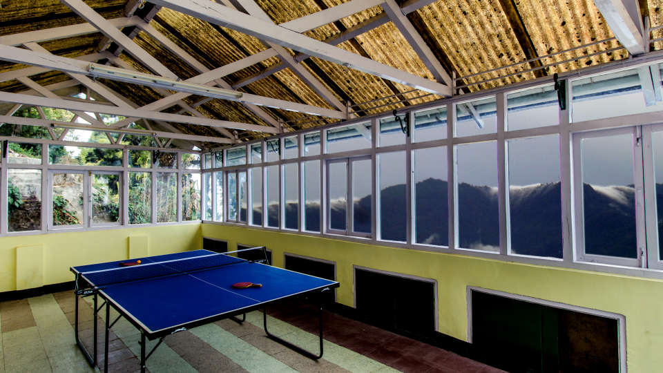 Central Gleneagles Resort, Darjeeling Darjeeling Table tennis Central Gleneagles Resort Darjeeling