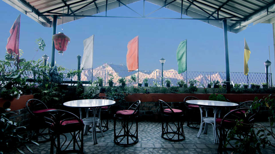 Central Hill Resort, Gangtok Gangtok central hill resort roof 2