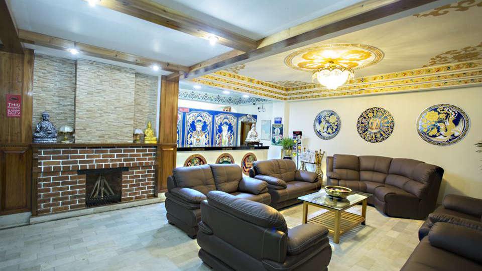Central Hill Resort, Gangtok Gangtok lobby Central hill resort gangtok