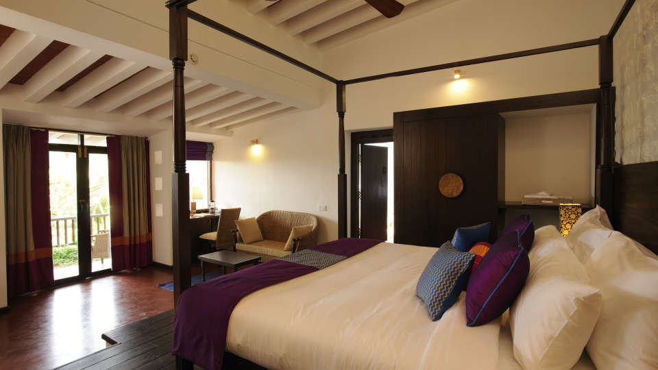 Heritage Classic Room at Niraamaya Surya Samudra Resorts in Kovalam 2