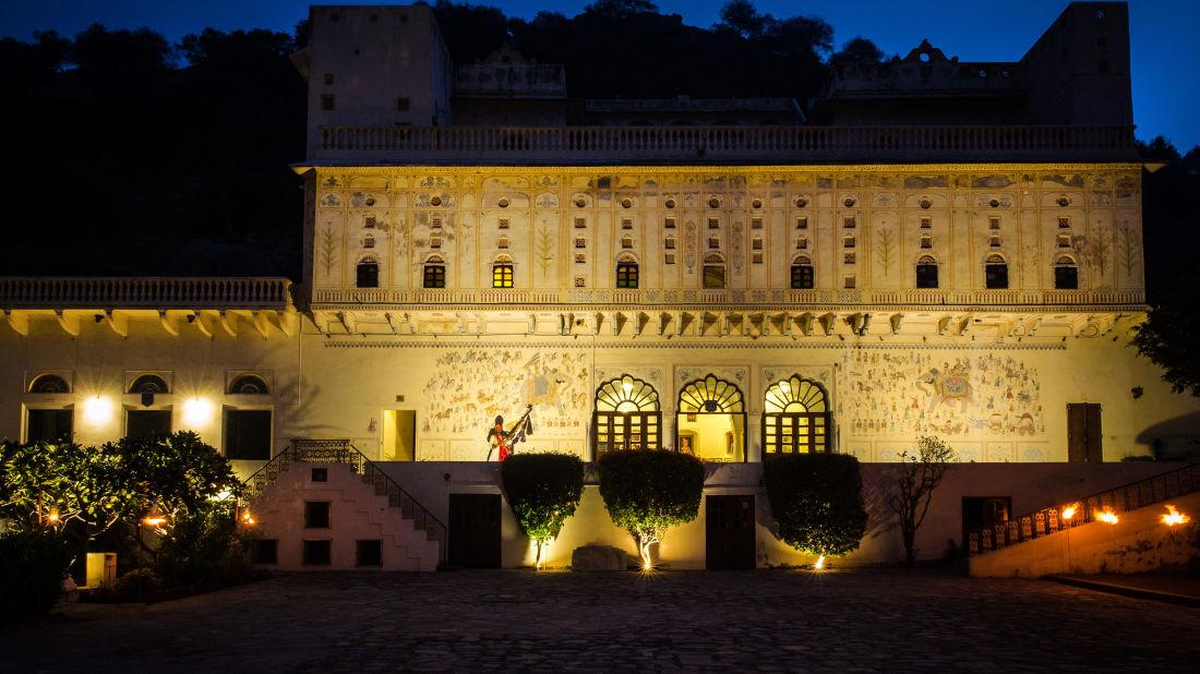Facade of Bara Bungalow Kalwar, Jaipur 11, Jaipur Villa, Best Villa in Jaipur