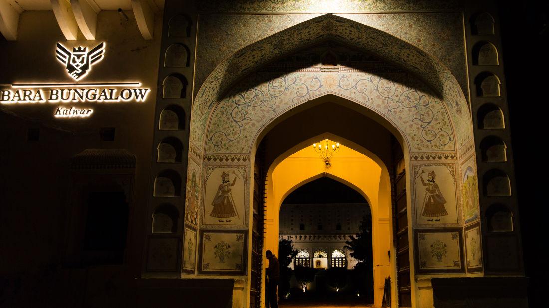 Facade of Bara Bungalow Kalwar, Jaipur 18, Jaipur Villa, Best Villa in Jaipur