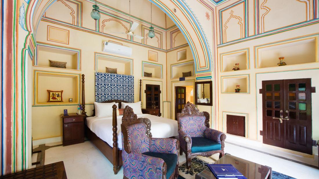Heritage Room at Bara Bungalow Kalwar, Jaipur 1, Jaipur rooms, stay in Jaipur