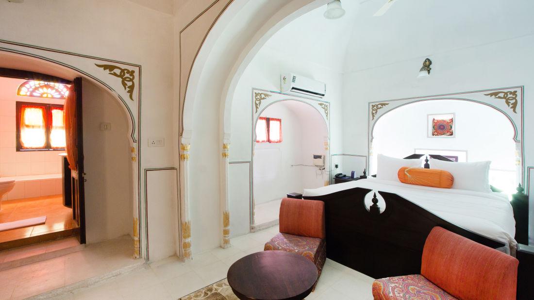 Heritage Room at Bara Bungalow Kalwar, Jaipur 4, Jaipur rooms, stay in Jaipur
