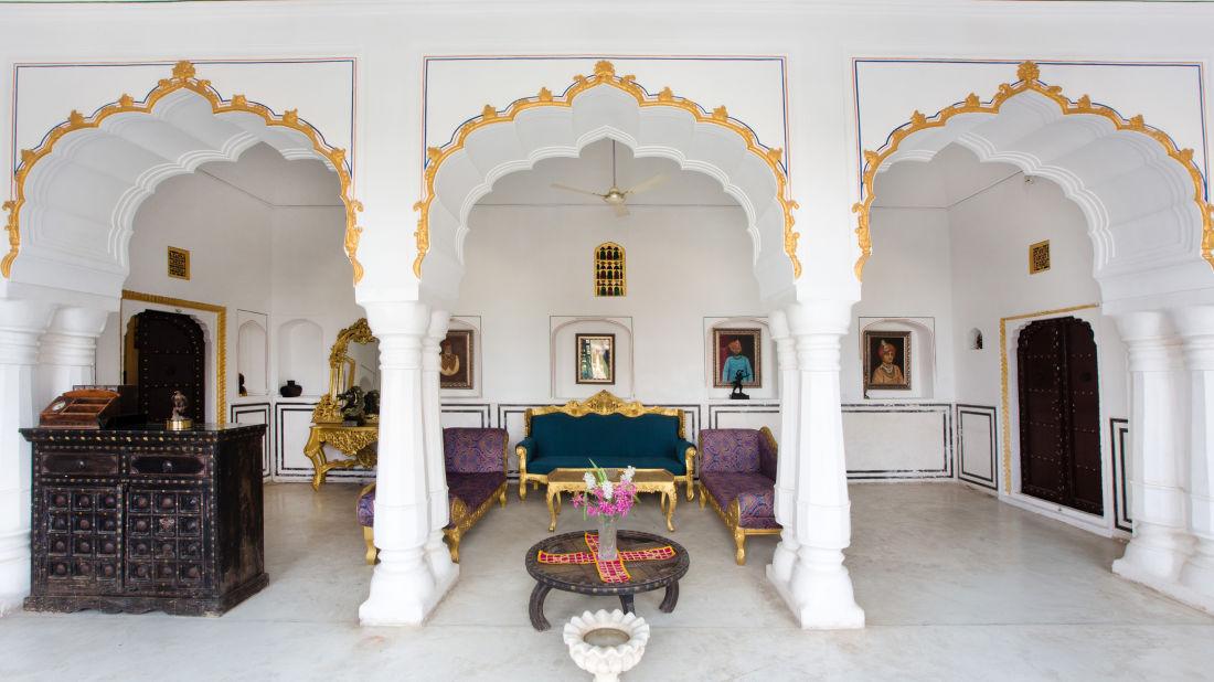 Lounge at Bara Bungalow Kalwar, Jaipur 6, Best Villa in Jaipur, Luxury Villa in Jaipur