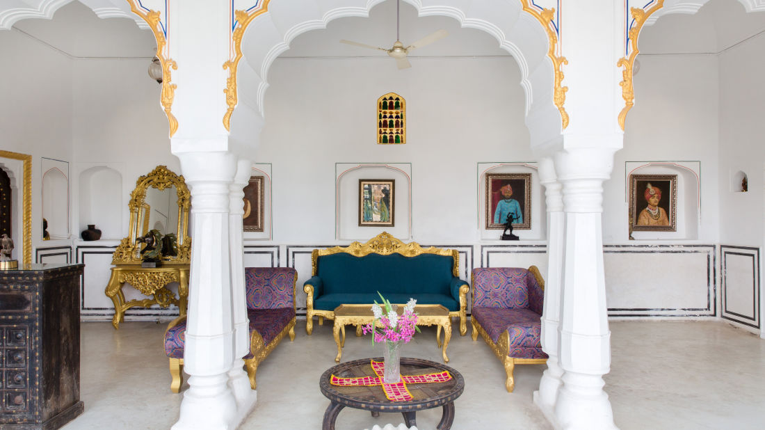 Lounge at Bara Bungalow Kalwar, Jaipur 7, Best Villa in Jaipur, Luxury Villa in Jaipur