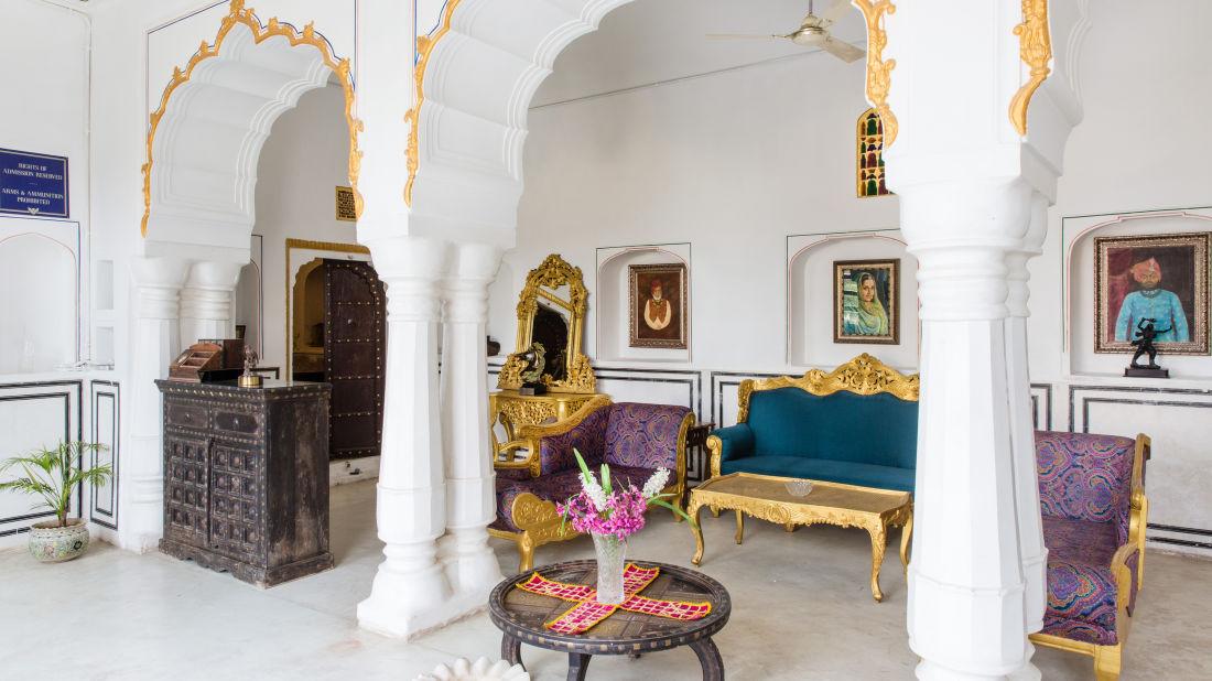 Lounge at Bara Bungalow Kalwar, Jaipur 9, Best Villa in Jaipur, Luxury Villa in Jaipur