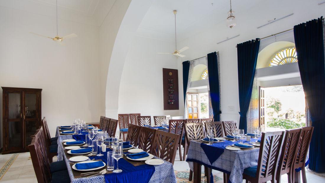 Restaurant at Bara Bungalow Kalwar, Jaipur 1, Restaurant in Kalwar