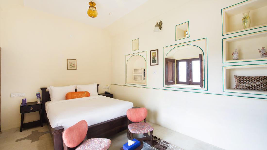 Superior Room at Bara Bungalow Kalwar, Jaipur 2, Jaipur rooms, Stay in Jaipur