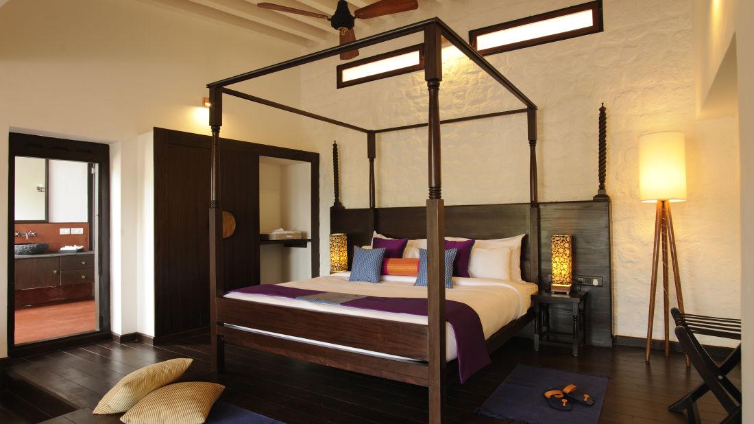 Heritage Classic Room at Niraamaya Surya Samudra Resorts in Kovalam 3