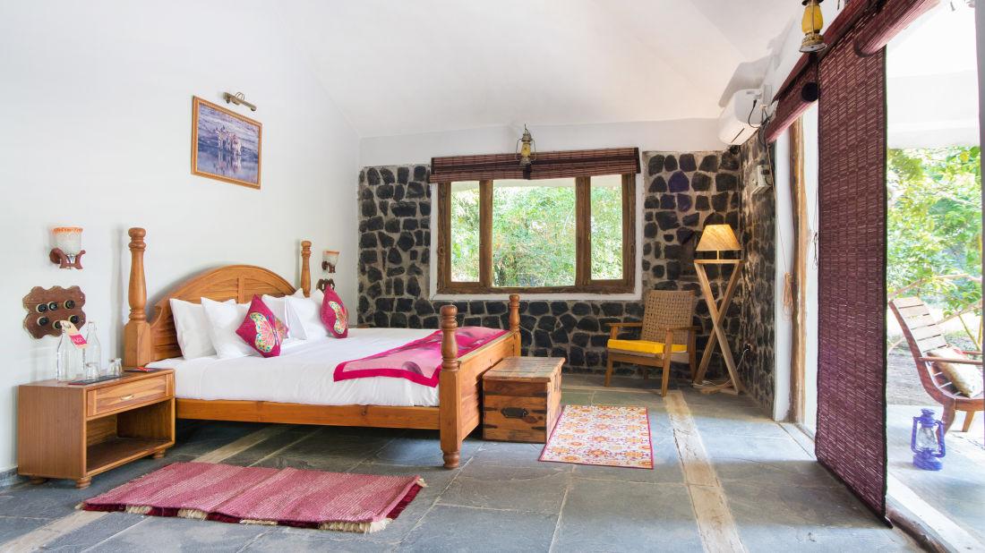 Bandhavgarh National Park Resorts, Rosa Bandhavgarh Meadows, Rooms 4