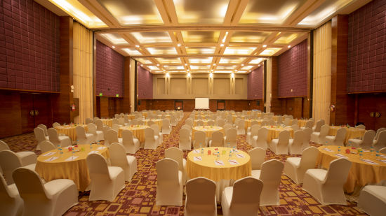 Crystal Ballroom at The Orchid Hotel Pune, Wedding Hall in Pune, Luxury Hotel in Pune