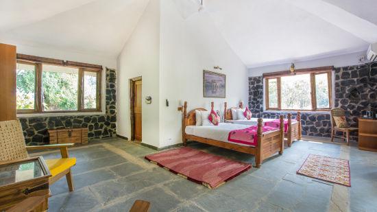 Best Resorts in Bandhavgarh, Rosa Bandhavgarh Meadows Tiger Safari Lodge, Villas 2