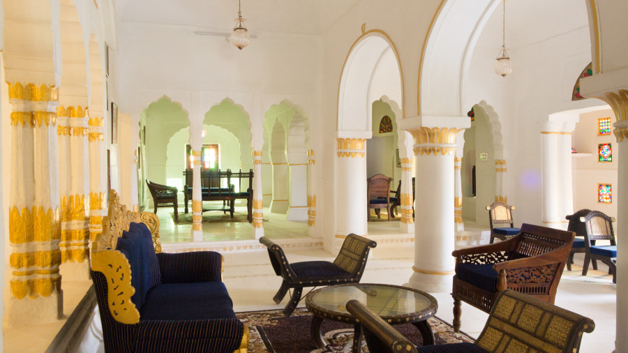 Lounge at Bara Bungalow Kalwar, Jaipur, Best Villa in Jaipur, Luxury Villa in Jaipur