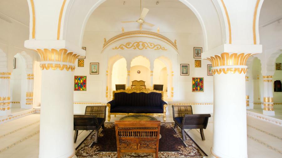 Lounge at Bara Bungalow Kalwar, Jaipur 1, Best Villa in Jaipur, Luxury Villa in Jaipur
