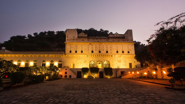 Facade of Bara Bungalow Kalwar, Jaipur 6, Jaipur Villa, Best Villa in Jaipur