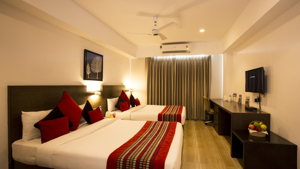 Family Room at Mount Milestone Hotel and Banquets in Siliguri