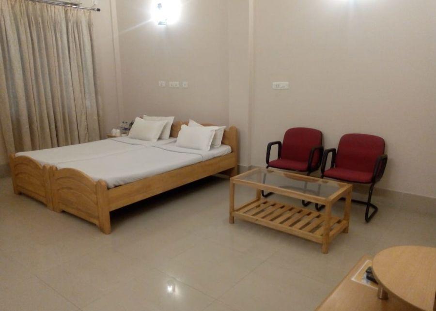 alt-text superior room 2, Polo Lake Resort, Neermahal, Resort in Melaghar