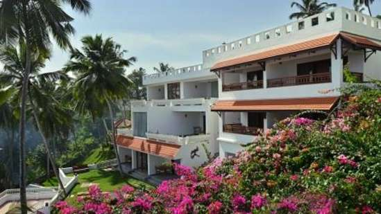 Facade at Turtle on the Beach, Annexe, Outside view of the hotel in Kovalam
