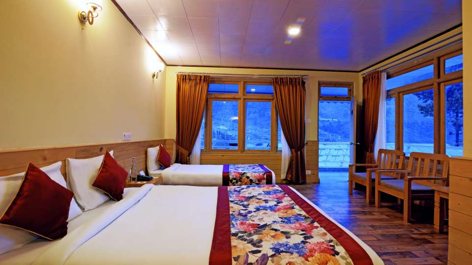 Deluxe Room at Summit Alpine Resort Lachung 6