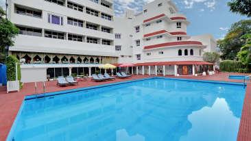 Swimming Pool3, Facilities at Ambassador Pallava, 4 Star Hotel in Chennai