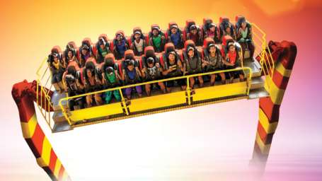 Thriller Rides - Maveric at Wonderla Kochi Amusement Park