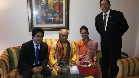 Birju Maharaj at The Orchid Hotel Mumbai