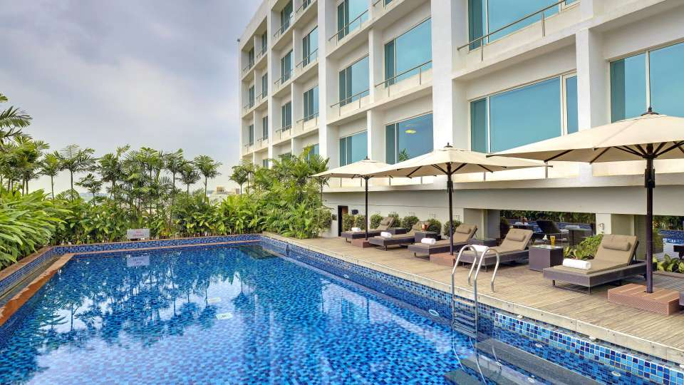 Swimming pool at Radisson Blu - Bengaluru Outer Ring Road