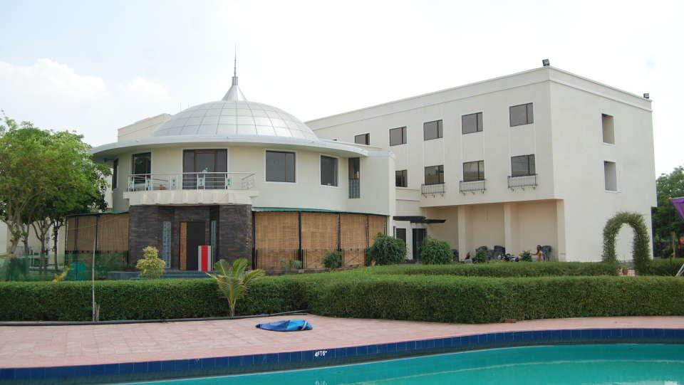 The Palm Resort, Bhilwara Bhilwara Facade The Palm Resort Bhilwara