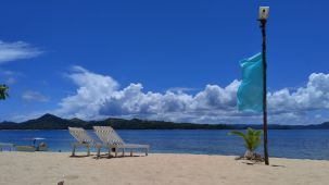 Corregidor Island beach