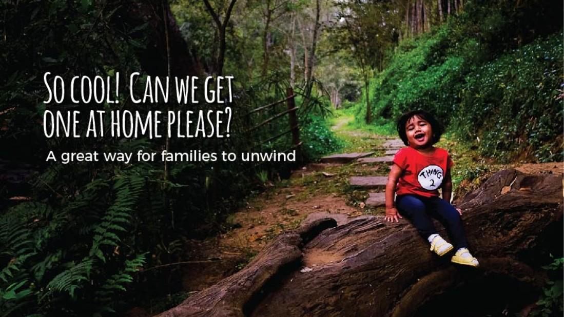 Family Campaign, Amanvana Resort Spa, Luxury Coorg Resort 6