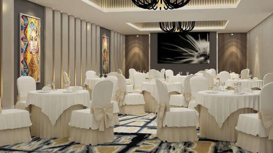Neelkanth Sarovar Premiere Luxury Hotel in Lusaka banquet