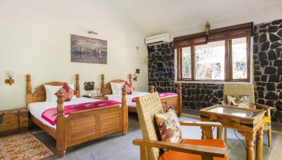 Bandhavgarh National Park Resorts, Rosa Bandhavgarh Meadows, Rooms 6