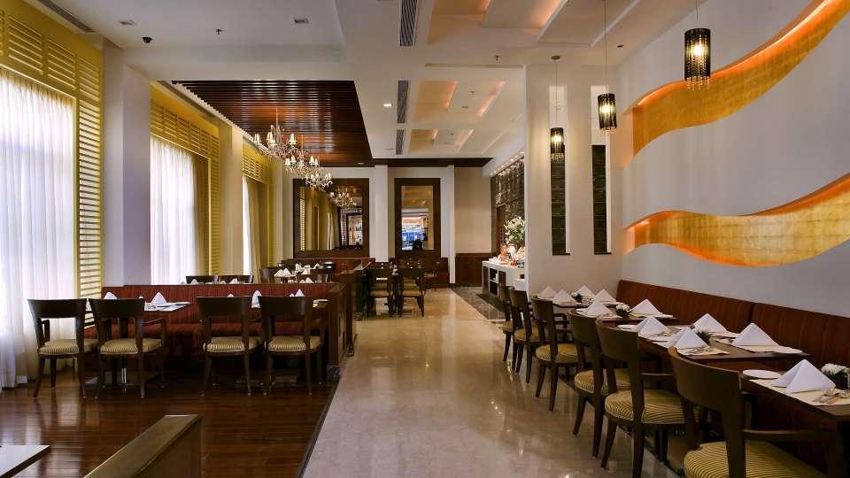 Cafe 55 atPark Inn, Gurgaon - A Carlson Brand Managed by Sarovar Hotels, gurgaon restaurants 7