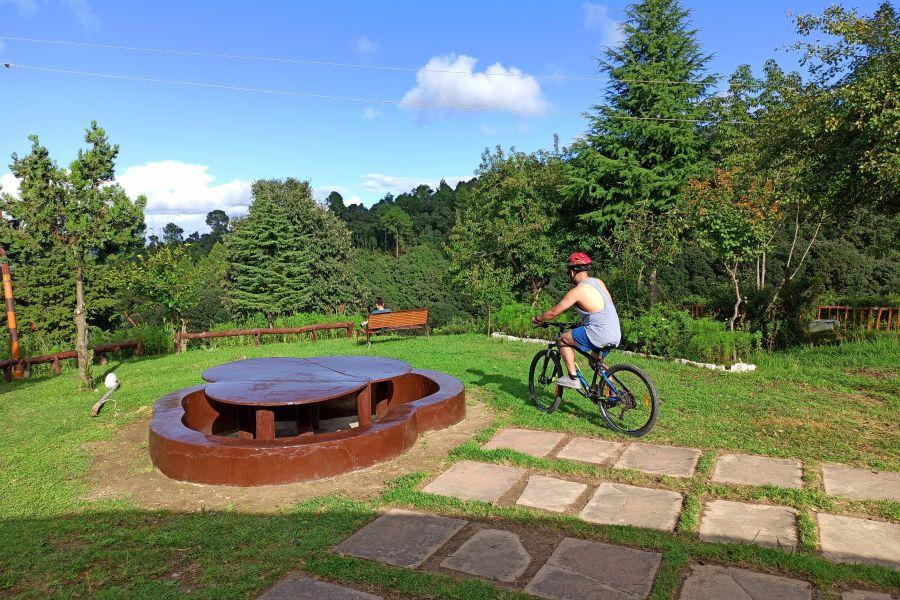 alt-text Let s Camp Sitlakhet activity bike