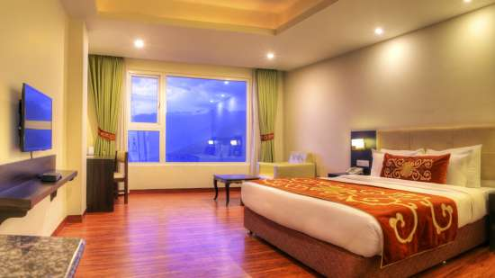 Deluxe Plus Room at Summit Denzong Hotel Spa Gangtok 2sdfsf