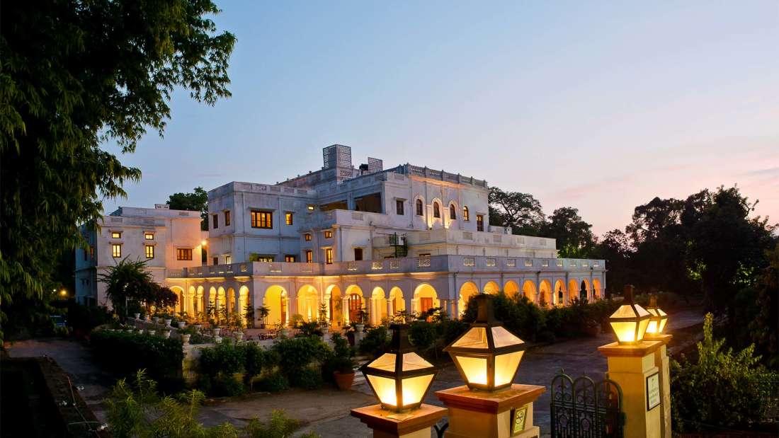 The Baradari Palace - 19th C, Patiala Patiala The impressive gatway of The Baradari Palace The Baradari Palace Patiala