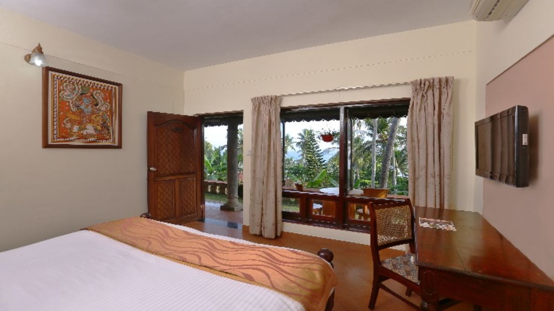 Standard rooms, rooms at Kovalam Beach, Turtle on the Beach, Annexe