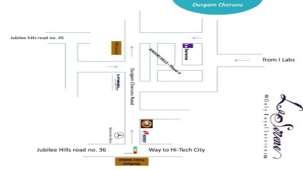 La Serene @ Madhapur Telangana laserene map