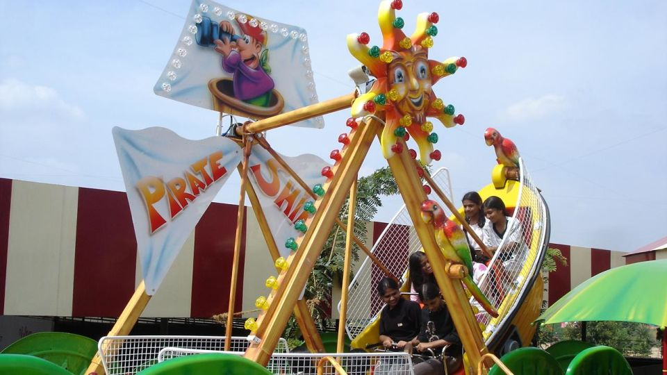 Kids Rides - Mini Pirate at  Wonderla Amusement Park Bangalore