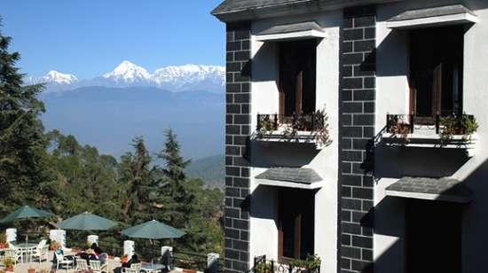 The Haveli Hari Ganga Hotel, Haridwar Haridwar large-kausani-hotel-sun-n-snow-sunnsnowfront
