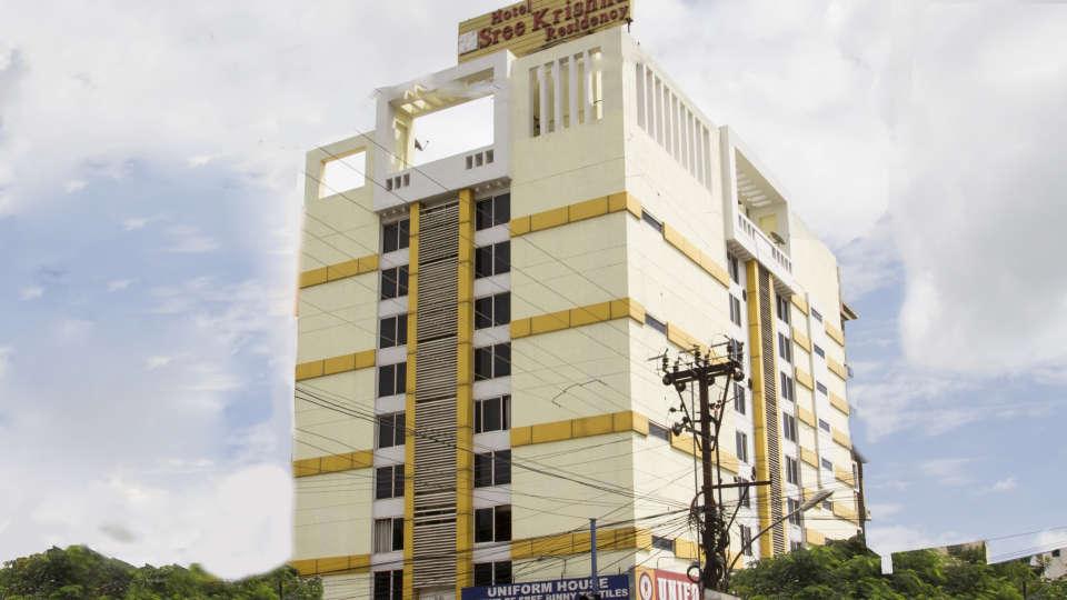 Hotel New Sreekrishna Residency, Hyderabad Hyderabad Hotel Facade Hotel New Sreekrishna Residency Hyderabad