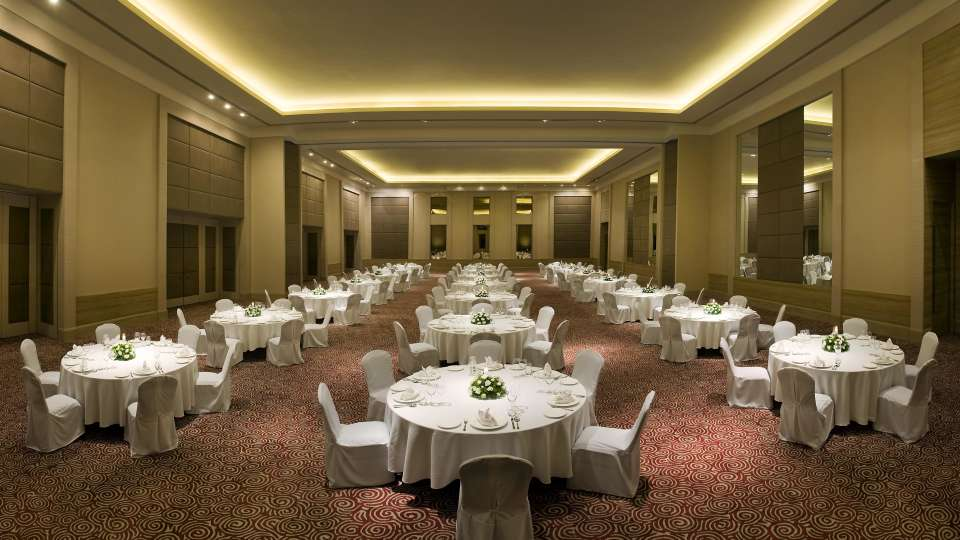 Round TAble Set Up Park Plaza, Bengaluru - A Carlson Brand Managed by Sarovar Hotels