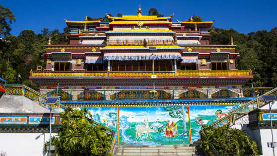 Rumtek Monastery at The Royal Plaza Gangtok, hotels in gangtok