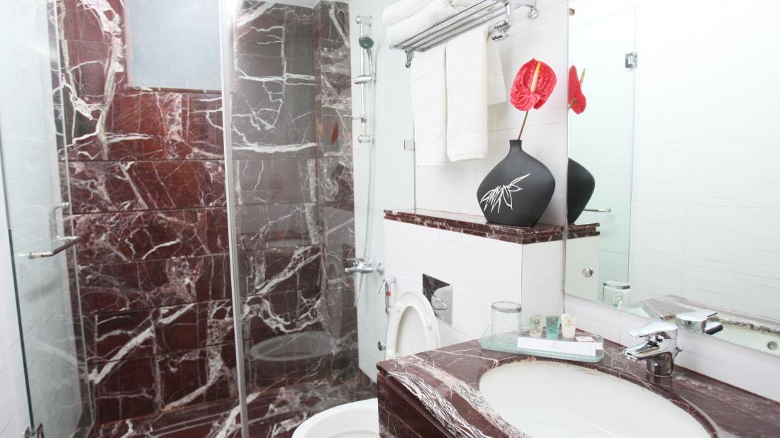 Emblem Hotel, New Friends Colony, New Delhi Delhi Premium Washroom 2 Emblem Hotel New Friends Colony New Delhi