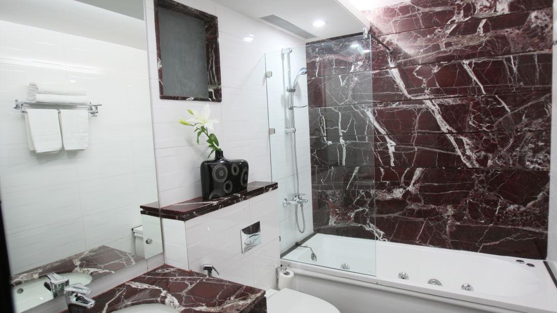 Emblem Hotel, New Friends Colony, New Delhi Delhi Premium Washroom Emblem Hotel New Friends Colony New Delhi