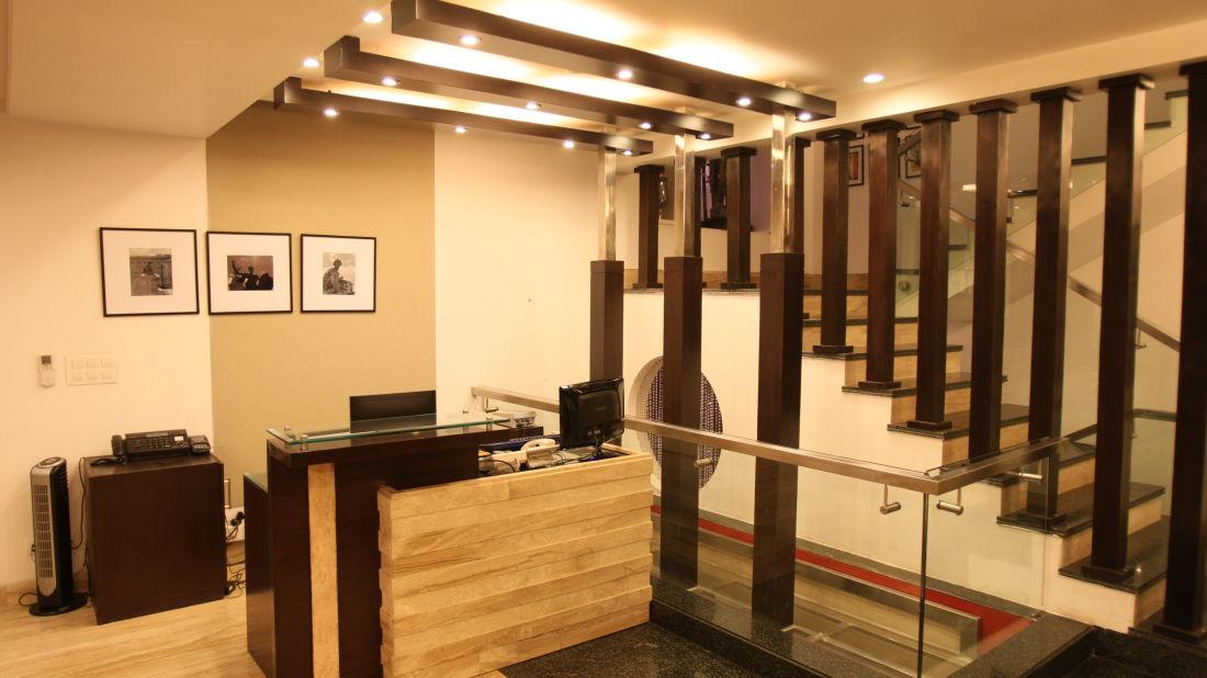 Emblem Hotel, New Friends Colony, New Delhi Delhi Reception Emblem Hotel New Friends Colony New Delhi