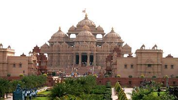 Lord Swaminarayan Akshardham Temple in Delhi
