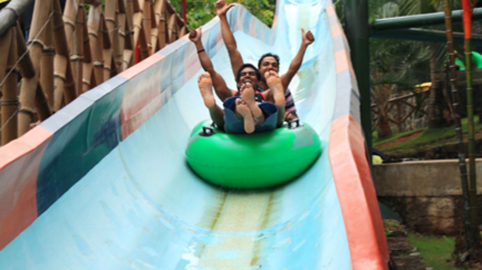 Water Rides - Water Coaster at Wonderla Kochi Amusement Park
